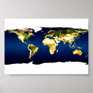 World Map Print