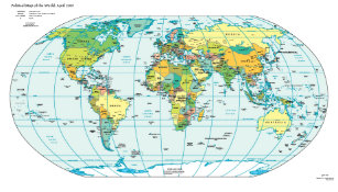 World map posters photo prints zazzle world map poster gumiabroncs Images