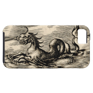 World Map Sea Serpent iPhone SE/5/5s Case