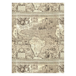 Map tablecloths zazzle world map sea serpents tablecloth gumiabroncs Gallery