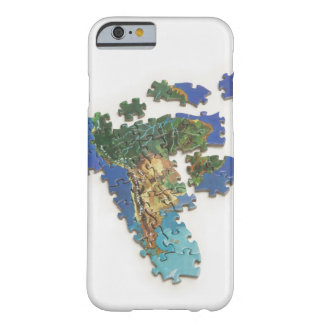World Map, South America 2 Barely There iPhone 6 Case