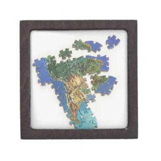 World Map, South America 2 Gift Box