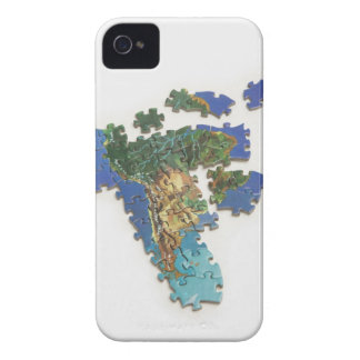 World Map, South America 2 iPhone 4 Case-Mate Case