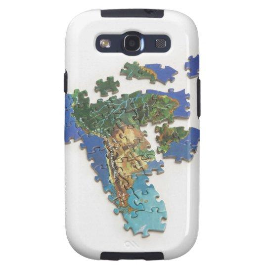 World Map, South America 2 Samsung Galaxy SIII Case