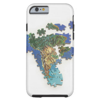 World Map, South America 2 Tough iPhone 6 Case