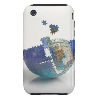 World Map, South America Tough iPhone 3 Cover