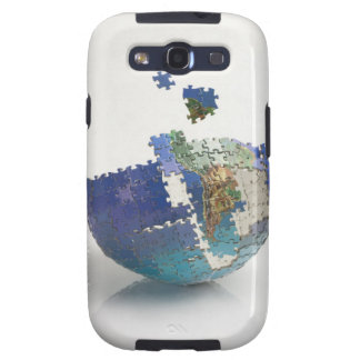 World Map South America Galaxy SIII Case