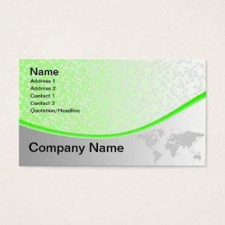 world mape business card
