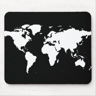 world maps customizable color mouse pads