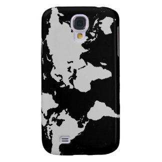 world maps ~ customizable color samsung galaxy s4 case