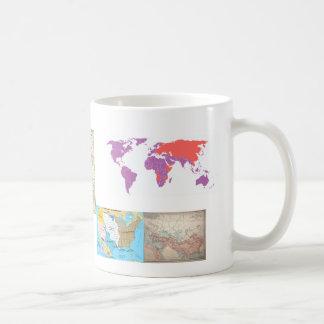 World Maps history Mug