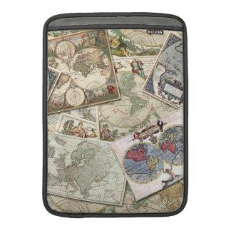 World Maps Sleeve For MacBook Air