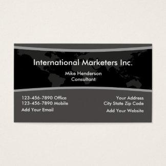 World Marketing Business Card