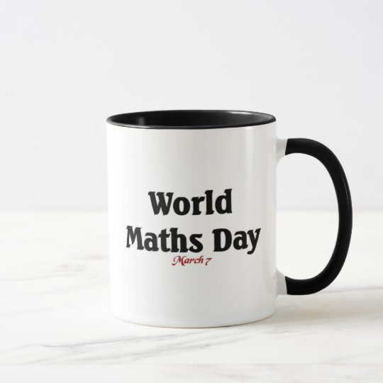 World maths Day Mug