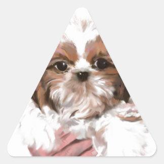 World meet Maya Triangle Sticker