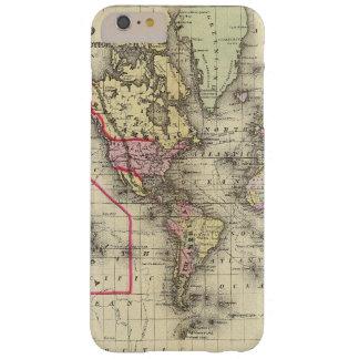 World Mercator proj 2 Barely There iPhone 6 Plus Case