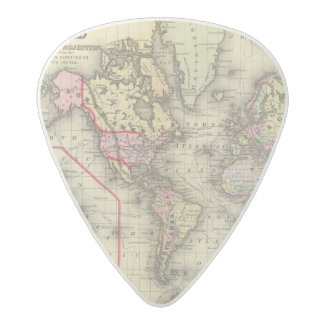 World Mercator proj 2 Acetal Guitar Pick