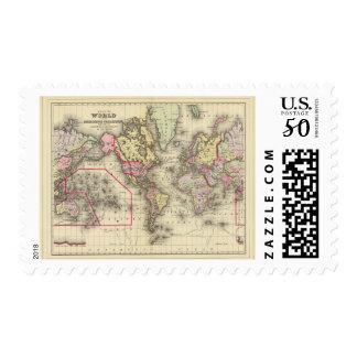 World Mercator proj 2 Postage
