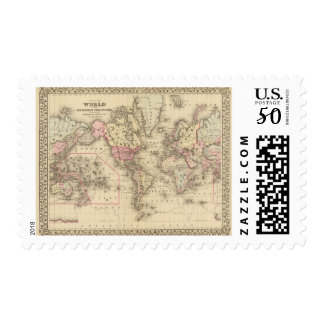 World Mercator proj Postage