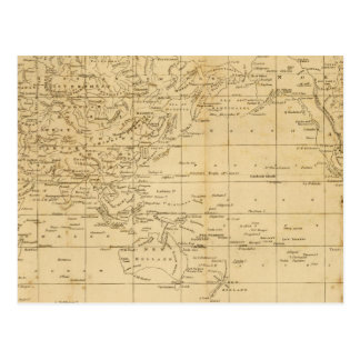 World Mercator s projection Post Cards