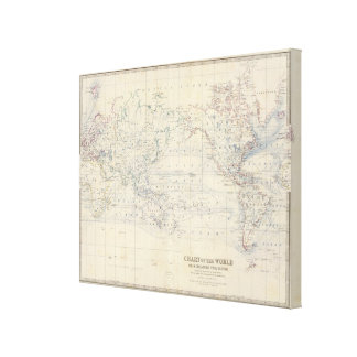 World Mercators project Canvas Print