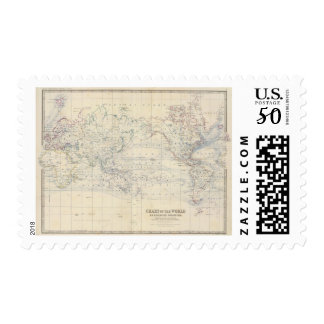 World Mercators project Postage