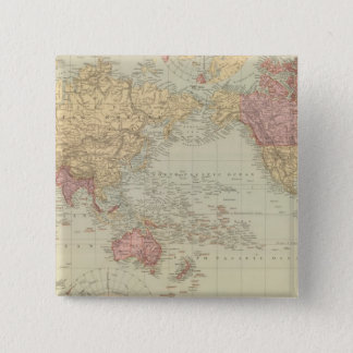 World Mercator's projection 2 Pinback Button