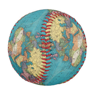 World, Mercator's Projection Baseball
