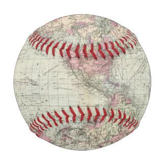 World, Mercator's projection Baseballs