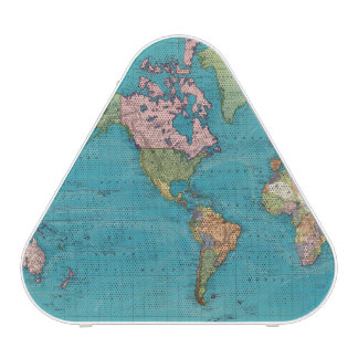 World, Mercator's Projection Bluetooth Speaker