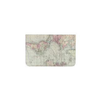World, Mercator's projection Business Card Holder