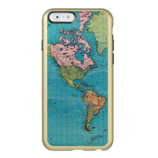 World, Mercator's Projection Incipio Feather® Shine iPhone 6 Case