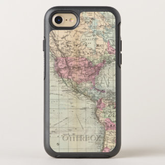World, Mercator's projection OtterBox Symmetry iPhone 8/7 Case