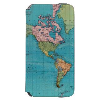 World, Mercator's Projection Incipio Watson™ iPhone 6 Wallet Case