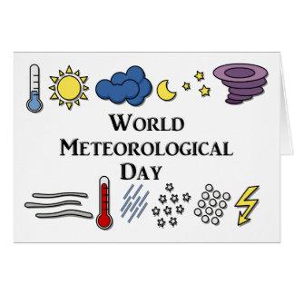 World Meteorological Day Card