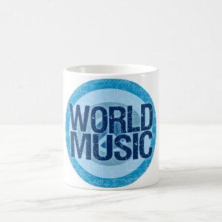 World Music mug - choose style & color