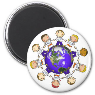 World of Angels magnet