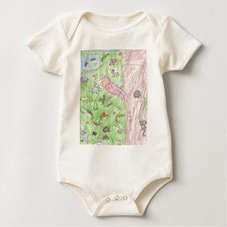 World of Animals Baby Bodysuit