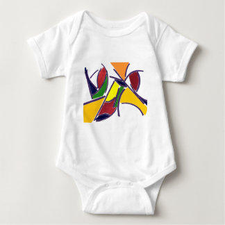World of Color Baby Bodysuit