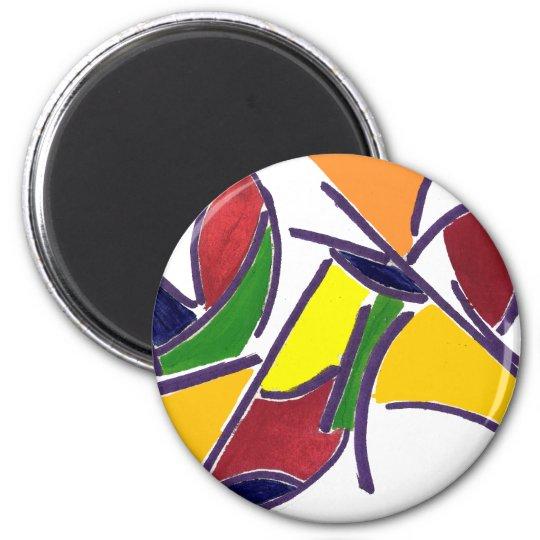 World of Color Magnet