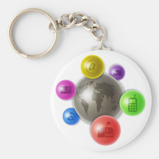 World of Communication Keychain