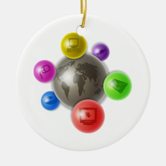 World of Computers Christmas Tree Ornaments