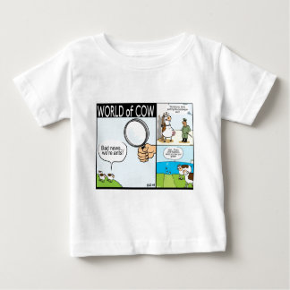 World of Cow; ant cows, text-grazing and barbeque Baby T-Shirt