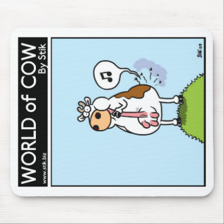 World of Cow Mouse Mat Mouse Pad
