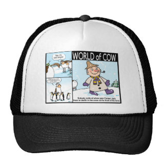 World of Cow Winter Variety Cap
