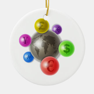 World of Currency Christmas Tree Ornaments