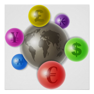 World of Currency Print