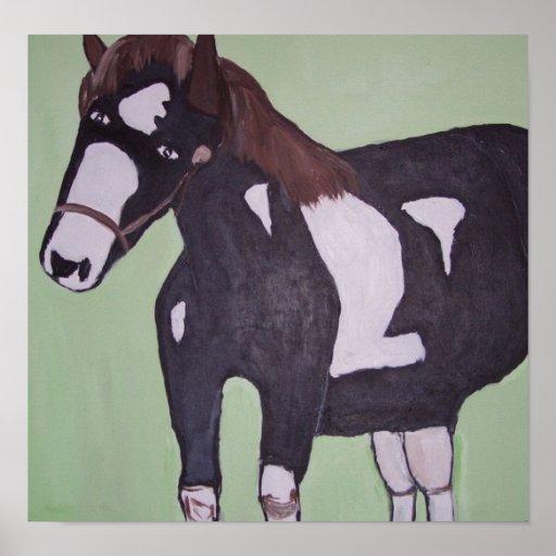 world of erc printshop erics horse poster