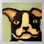 world of eric dog love print