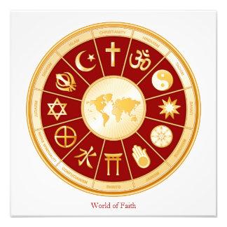 World of Faith Photo Print